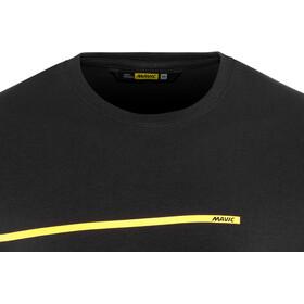 Mavic La Bande Jaune Kurzarm T-Shirt Herren black